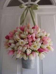 The Best Spring Door Wreath Ideas 05