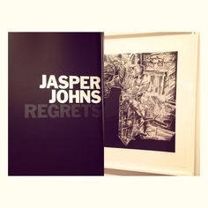 Jasper Johns. (A favorite). Regrets at Moma. NYC. 2014.