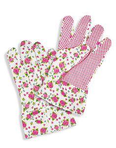 Gartenhandschuhe in Blumenmuster | ADLER