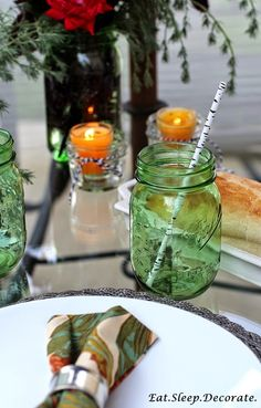 Eat. Sleep. Decorate.: Outdoor Dinner for Two (+ A Giveaway)