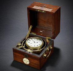 "HMS ""Beagle"" marine chronometer;  set for Bonhams auction"