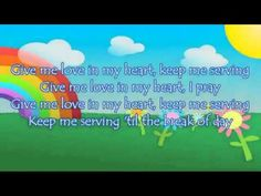 Give me Oil in My Lamp - Sing Hosanna by Cedarmont Kids Bible Songs, All Songs, Kids Songs, Bible Verses, Christian Kids, Christian Movies, Baptism Themes, Sunday School Songs