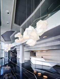 suspension, luminaire  Designer Octavio Amado  Photographe Antoine Duhamel Architectes Brenac & Gonzalez Et Associés