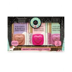 Le Coffret Naughty kisses & sweet cheeks, Too Faced.