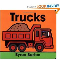 Little man loves these books by Bryon Barton and can help read most of the story!