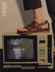 Top model Erik van Gils teams up with fashion photographer Jesse John Jenkins for Boogie Nights story coming from the pages of Numero Homme Germany's Spring Summer 2016 edition. In charge of styling was Rose Forde.