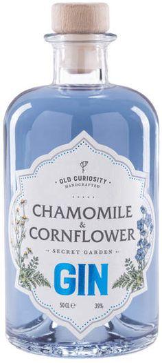 The Old Curiosity Distillery Chamomile & Cornflower Secret Garden Gin. Gin I Chamomile I Chamomile Gin I Gin Lover I Gin Gift I Gift I #ad
