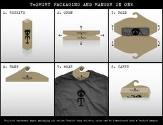 packaging shirts - Buscar con Google