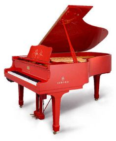 My dream is to have a mini baby grand piano just like this one... .