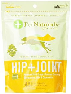 Pet Naturals Hip  Joint for Large Dogs 45 count -- For more information, visit image link.Note:It is affiliate link to Amazon.