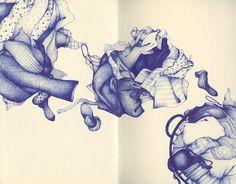More ballpoint pen drawing