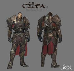 male armor concept art gameArt design graphic