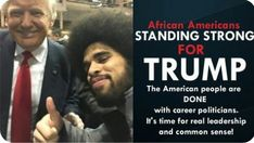 African Americans Stand Strong for Donald Trump Trump Is My President, Vote Trump, Greatest Presidents, Stand Strong, Conservative Politics, Democratic Party, Civil Rights, Donald Trump, Leadership