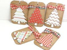 Christmas Gift Tags by cdesignsbycecelia on Etsy, $3.75