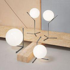 flos ic t1 high table lamp | flos | lighting
