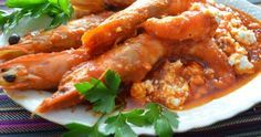 Αγαπημένες γαρίδες σαγανάκι με τυρί φέτα