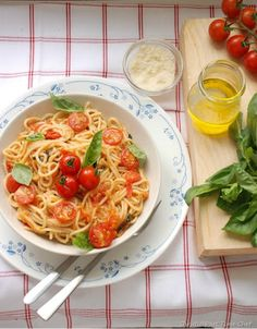 Spaghetti alla Napoletana.