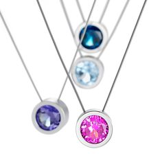 www.ORRO.co.uk - Niessing - Steel Max Necklaces - ORRO Contemporary Jewellery Glasgow
