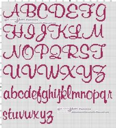Pin by dana abeyta on cross stitch Cross Stitch Letter Patterns, Cat Cross Stitches, Cross Stitch Letters, Cross Stitch Boards, Cross Stitch Baby, Cross Stitching, Cross Stitch Embroidery, Stitch Patterns, Loom Patterns