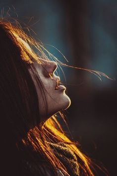 "Never regret something that once made your heart smile....  #lifelessons #portrait #photography  Photo Credit: ""Girl"" by Bogdan Ross on 500px"
