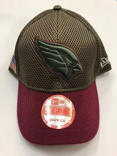 NFL BRAND NEW Arizona Cardinals Salute to Service New Era Curved Hat Salute  To Service 20bd3bedd10b