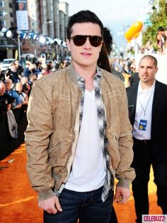 Hunger Games star Josh Hutcherson arrives at Nickelodeon's 25th Annual Kids' Choice Awards held at Galen Center in Los Angeles on March 31, 2012.