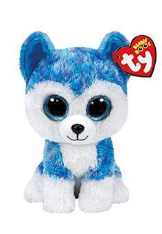 Skylar the husky - Ty Beanie Boo Ty Animals, Ty Stuffed Animals, Plush Animals, Beanie Boo Party, Beanie Boo Dogs, Beanie Babies, Ty Teddies, Ty Beanie Boos Collection, Ty Peluche