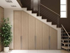 cupboard under stairs cupboard under stairs Closet Under Stairs, Under Stairs Cupboard, Home Stairs Design, Home Interior Design, House Design, Staircase Storage, Stair Storage, House Stairs, Small Living Rooms