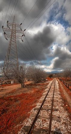 Train rails.. Greece (by Frank Kotsos on 500px)