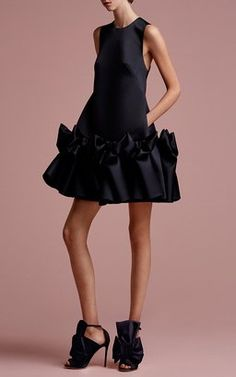 Bow Volant Mini Dress by Viktor and Rolf