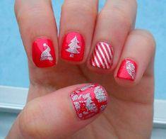 christmas nail art designs  #naildesigns #christmasnails #nailart