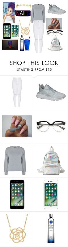 """Untitled #202"" by kiylee0209 on Polyvore featuring NIKE, Polo Ralph Lauren, Charlotte Russe and Lord & Taylor"