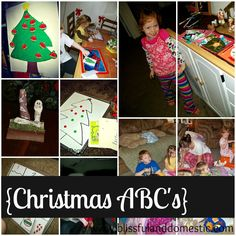 Christmas ABC's: A Preschool Christmas Countdown