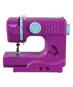 Tatum would love a real sewing machine! Look at this #zulilyfind! Purple Thunder Sewing Machine by Janome #zulilyfinds