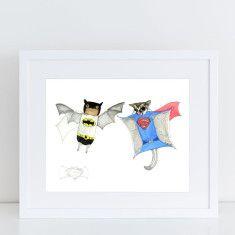 Batman v Superman Limited Edition Fine Art Print
