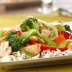 Chicken and Vegetable Stir-Fry http://Allrecipes.com