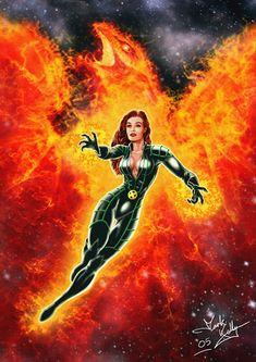 X-men movie Phoenix fan art X Movies, Comic Movies, Comic Book Characters, Marvel Characters, Comic Character, Comic Books, Jean Grey Phoenix, Dark Phoenix, Phoenix Force