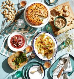 An incredible Provencal picnic, with recipes. from the WSJ
