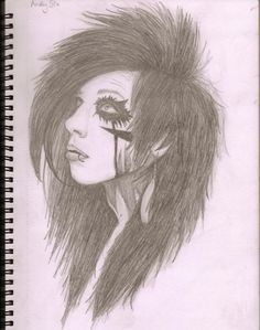 Andy Biersack i bet ikan draw this --chalenge accepted!!!!--
