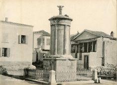 Το μνημείο του Λυσικράτη Greece Pictures, Old City, Once Upon A Time, Old Photos, Places To Go, The Past, Memories, Antiques, Photography