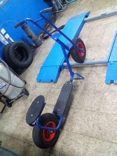 Patinete para adultos ruedas grandes de aire muy divertido