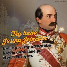 Gradska je uprava promijenila ime Harmica u Trg bana Josipa Jelačića na današnji dan prije 169 godina.