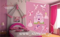 Naklejka dziecięca na ścianę dla dziewczynki Wróżki - ZDK 1