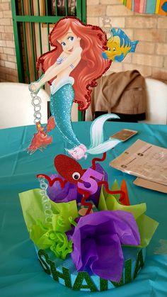 Little mermaid centerpiece