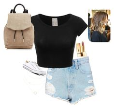 """""""OOTD #1"""" by audreygrace25 ❤ liked on Polyvore featuring BDG, Converse, Yves Saint Laurent and rag & bone"""