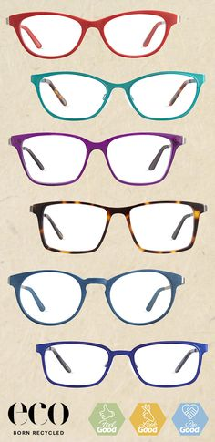 Update your Eyewear Wardrobe with ECO Born Recycled Specs