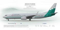 Boeing 737-800 American Airlines N916NN Reno Air Heritage … | Flickr
