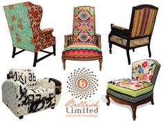 love the numerical cowhide chair!  the HUNTED INTERIOR