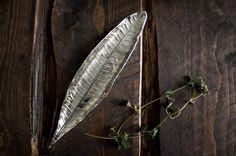 Silver leaf tray/dish