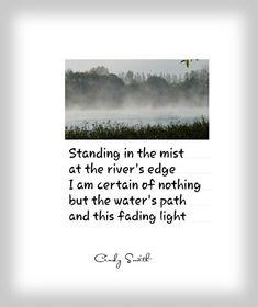 Tanka~ this fading light Cindy Smith